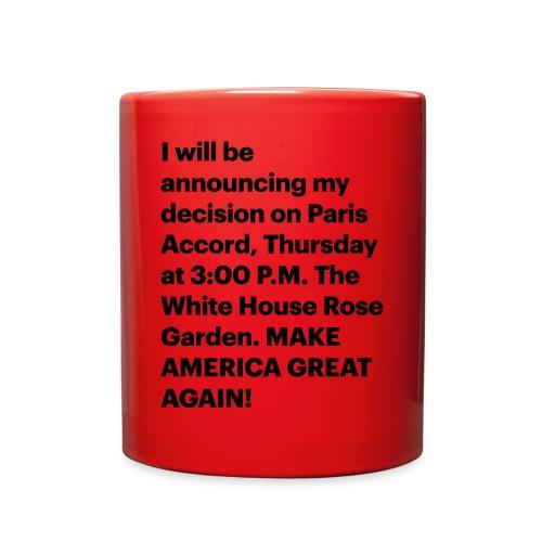 Jun. 1, 2017 - Full Color Mug