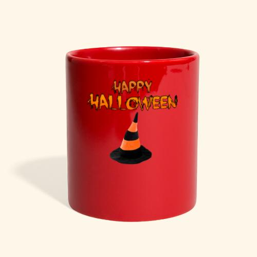 HAPPY HALLOWEEN WITCH HAT TEE - Full Color Mug