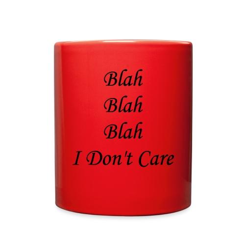 blah blah blah - Full Color Mug