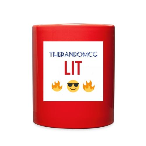 TheRandomCG Is Lit - Full Color Mug