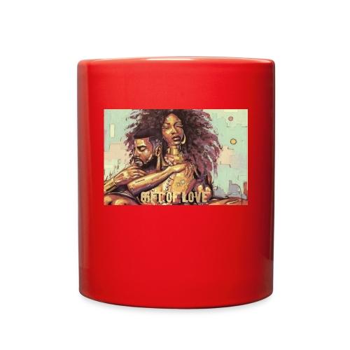 the gift of love - Full Color Mug