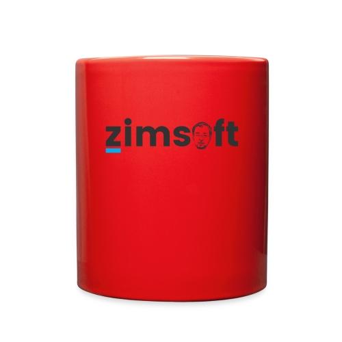 zimsoft dark cropped - Full Color Mug