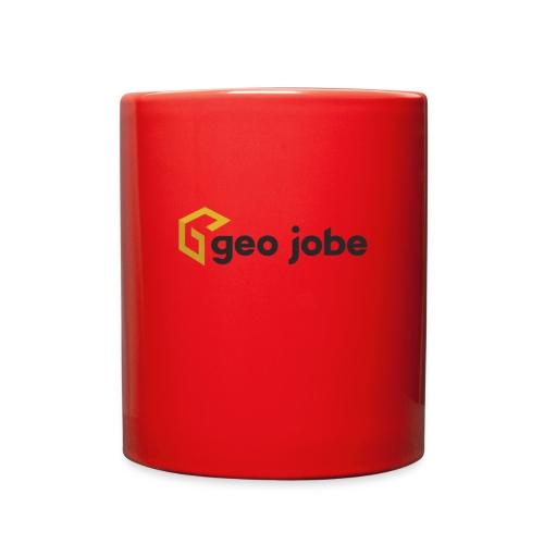 GEO Jobe Corp Logo - Black Text - Full Color Mug
