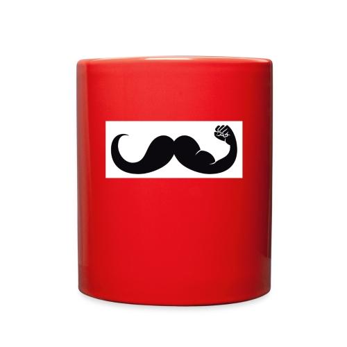 mustache tutorial - Full Color Mug
