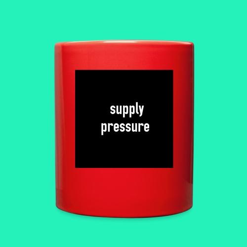 Supply pressure  - Full Color Mug