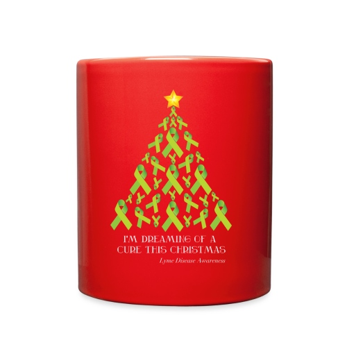 Lyme Free Christmas - Full Color Mug