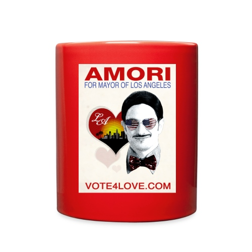 Amori for Mayor of Los Angeles eco friendly shirt - Full Color Mug