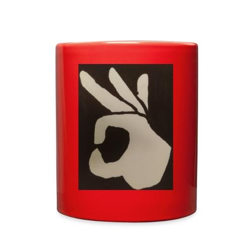Finger Meme Hoodie - Full Color Mug