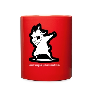 Dabbing Goat W Words 1 - Full Color Mug