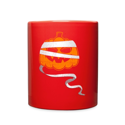 Halloween Bandaged Pumpkin - Full Color Mug