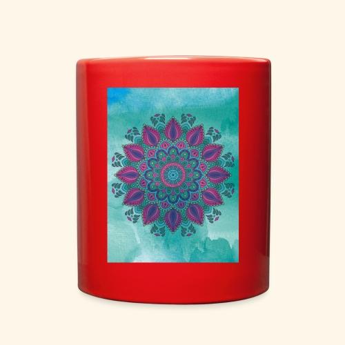 Vinatge Mandala Watercolor - Full Color Mug
