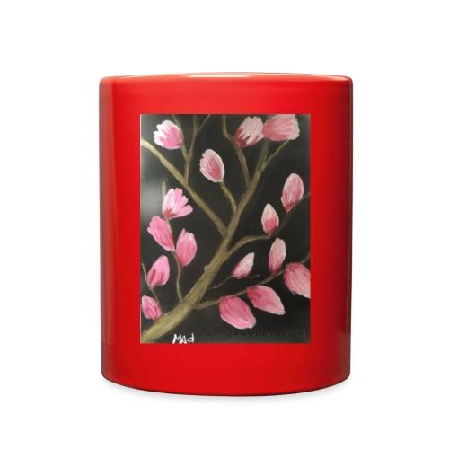 Magnolia Buds Early Spring - Full Color Mug
