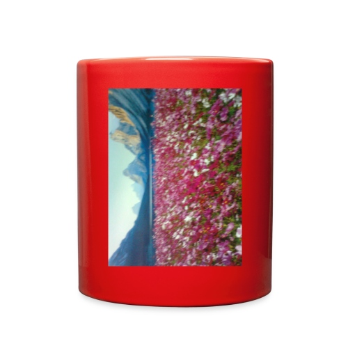 Mountains and Flower - Full Color Mug