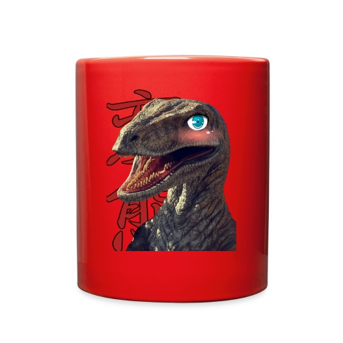 Kawaii Raptor - Full Color Mug