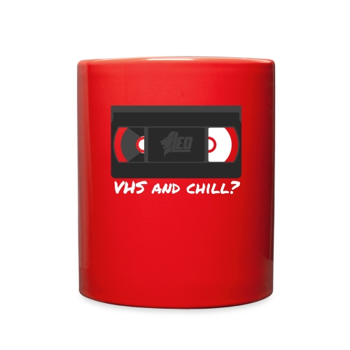 VHS and Chill png - Full Color Mug