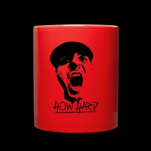How Hard Scream Face & Logo - Full Color Mug