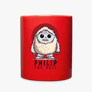 Philip the Yeti - Full Color Mug