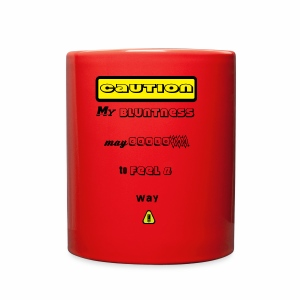 Caution Small - Full Color Mug