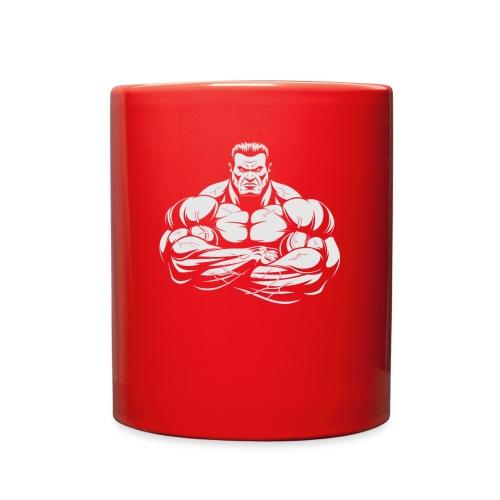 An Angry Bodybuilding Coach - Full Color Mug