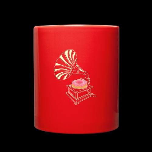Donut Stop the Music | Sweet Gramophone - Full Color Mug