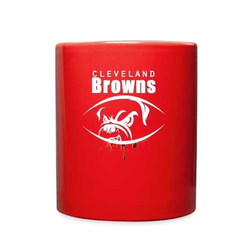 win lose or tie i ll bleed orange brown3 - Full Color Mug