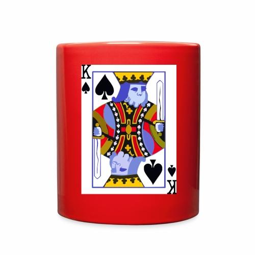 King Of Spades - Full Color Mug