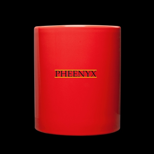 Pheenyx logo black - Full Color Mug