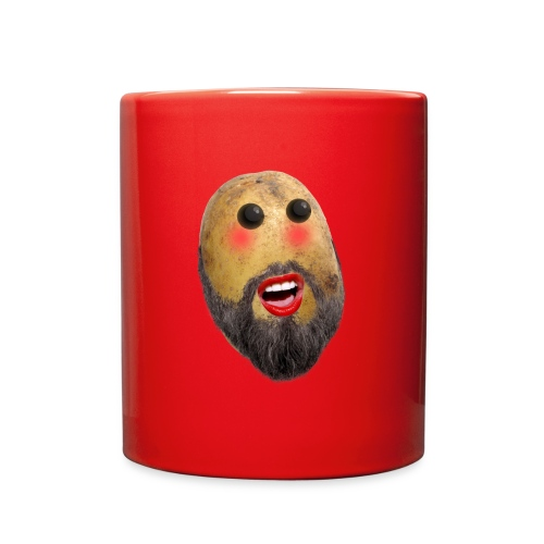 shy potato png - Full Color Mug