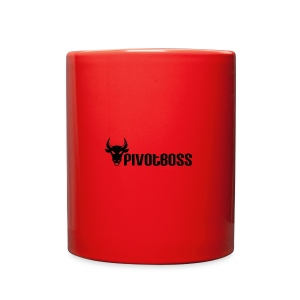 PivotBoss Black Logo - Full Color Mug