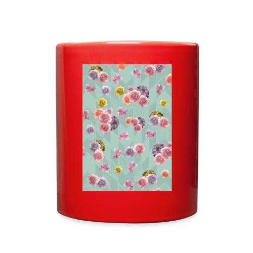 Floral Graphic Pattern1 - Full Color Mug