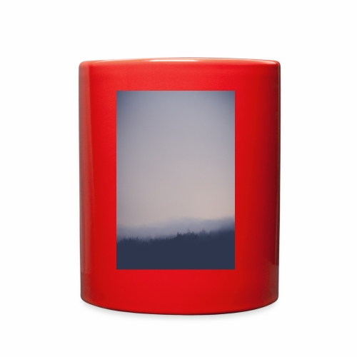 Foggy forest - Full Color Mug