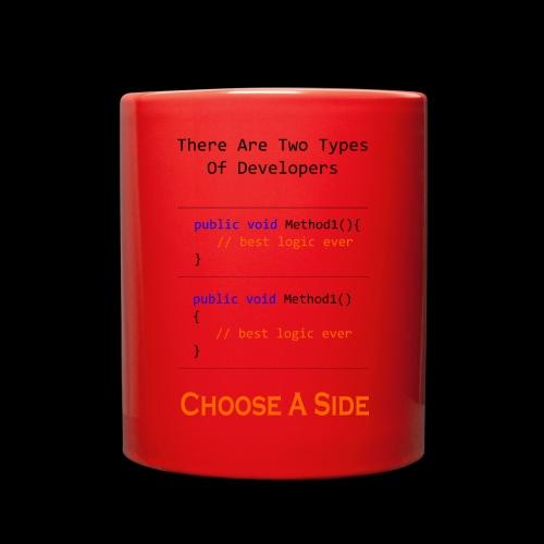 Code Styling Preference Shirt - Full Color Mug