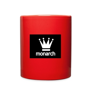 monarch with logo - Full Color Mug