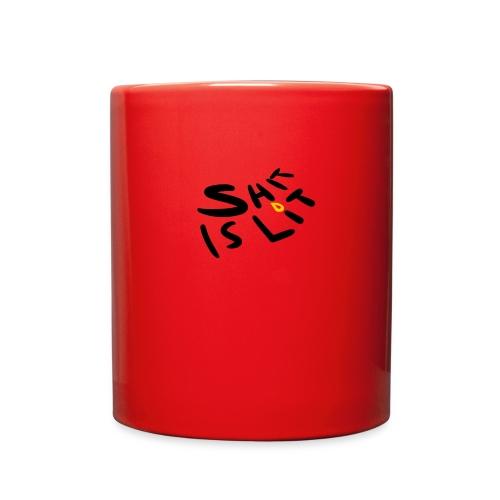 sh*t is lit - Full Color Mug