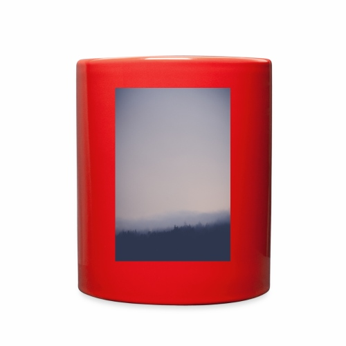 Foggy forest - Full Color Mug