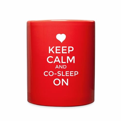 Keep Calm & Co-Sleep On - Full Color Mug