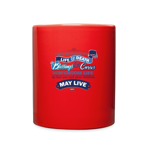 Deut 30 19 Light - Full Color Mug