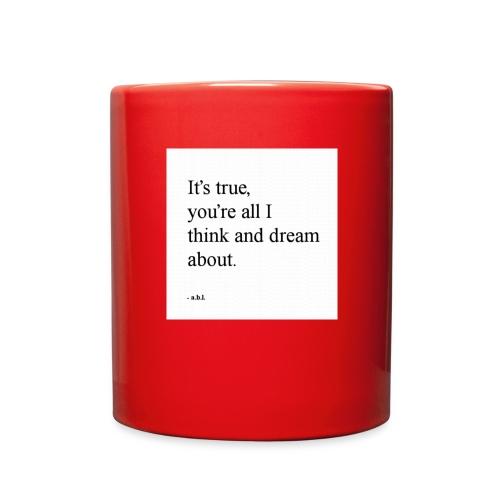 Thinker - Full Color Mug