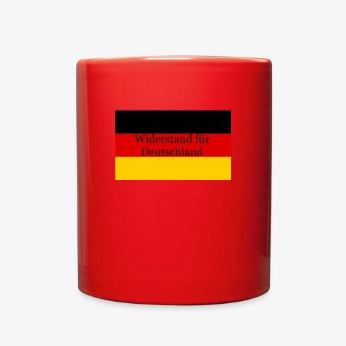 Widerstand für Deutschland - Full Color Mug