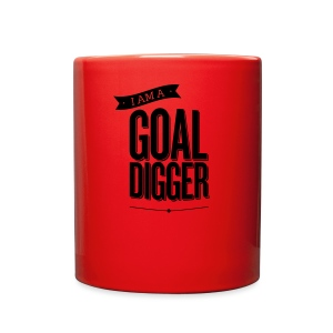 I Am A Goal Digger - Full Color Mug