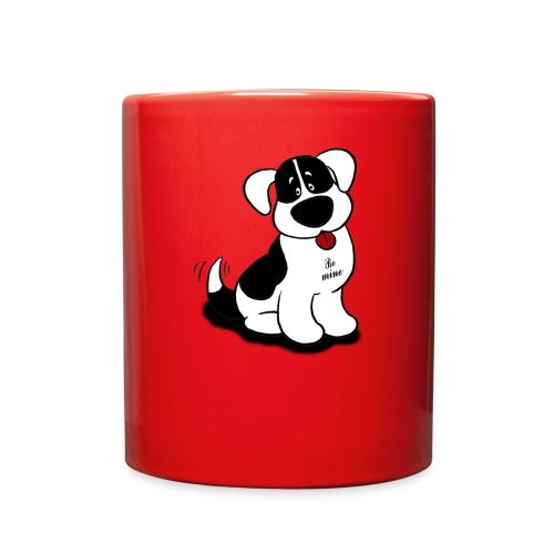 Be Mine Dog - Full Color Mug