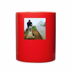 Camino 0.00 KM Backpacker Mike - Full Color Mug
