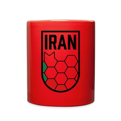 Iran Football Federation Crest - Full Color Mug