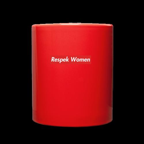 Respekt women - Full Color Mug