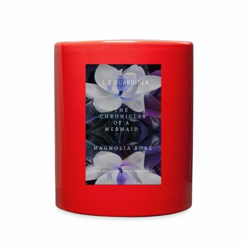 Magnolia Rose Book Cover - Full Color Mug