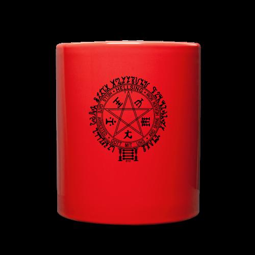 hellsing pentagram - Full Color Mug