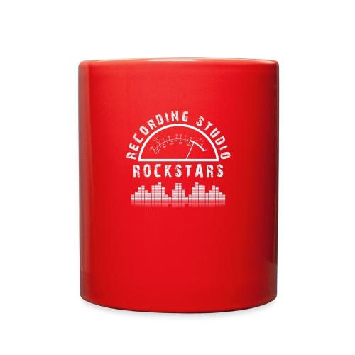 Recording Studio Rockstars - White Logo - Full Color Mug