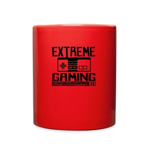 extreme gaming 101 accessories design - Full Color Mug