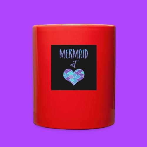 mermaid at heart - Full Color Mug