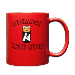 Recharge with hugs - Full Color Mug